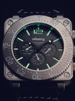 นาฬิกาข้อมือผู้ชาย นาฬิกาชาย นาฬิกาInfantry watch (In-Stock)