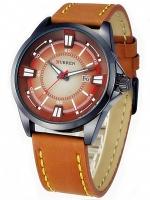 นาฬิกาข้อมือชาย สายหนัง Curren Watch A-09