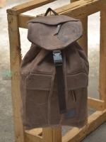 Back pack(กระเป๋าเป้ สะพายหลัง) BA003 สีน้ำตาล พร้อมส่ง