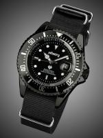 นาฬิกาข้อมือแฟชั่น สายไนลอน รุ่น IN-019-BLK-BN