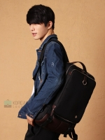 Kling / EXIT Premium Back pack(กระเป๋าเป้ สะพายหลัง) BA048 สีดำ พร้อมส่ง