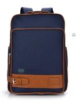 Back pack(กระเป๋าเป้ สะพายหลัง) BA012 สีน้ำเงิน พร้อมส่ง