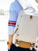 ลดราคา เหลือ 1,390.- 50 ท่านแรก KLING Premium Back pack(กระเป๋าเป้ สะพายหลัง) BA048 สีครีม พร้อมส่ง