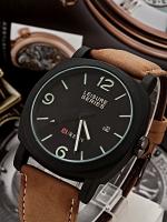 นาฬิกาข้อมือราคาถูก นาฬิกาแฟชั่นสายหนัง นาฬิกา Curren Watch (In-Stock)