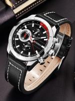 นาฬิกาข้อมือ Curren สายหนังแท้ รุ่น A15