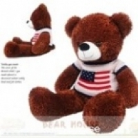รุ่น B05680 หมีเท็ดดี้ในชุดกันหนาว