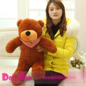 ตุ๊กตาหมีหลับ brown 0.8 เมตร