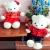 ตุ๊กตาหมีคู่รักชุดแต่งงานจีน