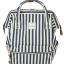 กระเป๋าเป้ Anello Stripe Navy (Standard) thumbnail 1