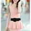 **พรีออเดอร์** ชุดเดรสผู้หญิงแฟชั่นเกาหลีใหม่ แบบ 2 ชิ้น กระโปรงแยก หรือชิ้นเดียวกัน แขนยาว ลูกไม้ แบบเก๋ เท่ห์ / **Preorder** New Korean Fashion Lace Stitching Round Neck 2 pieces with Split Skirt or 1 piece Long-Sleeved Dress thumbnail 3