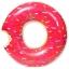 ห่วงยางเล่นน้ําแฟนซีโดนัสยักษ์ สีชมพู size 120 cm. thumbnail 1