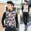 พรีออเดอร์ เสื้อเชิ้ตไหมพรมแฟชั่นเกาหลีสำหรับผู้ชาย แขนยาว เก๋ เท่ห์ - Preorder Men Korean Hitz Slim Long-sleeved Knitting Shirt thumbnail 1