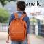 กระเป๋าเป้ Anello Premium Leather Camel (Standard) หนัง PU thumbnail 1