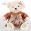 ตุ๊กตาหมีลอรัลตัวขาวครีม-เสื้อน้ำตาล ขนาด 0.7 เมตร thumbnail 1