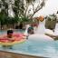 ห่วงยางเล่นน้ํา แพยางหงส์ ขาวสุดฮิต Giant Swan Inflatable งานเมกา thumbnail 5