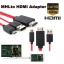 MHL Micro USB to HDMI 1080P HD TV Cable Adapter For Samsung Galaxy S3/4/5 Note 2/3 thumbnail 4