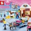 เลโก้จีน SY372 ชุด Princess Frozen Anna & Kristoff's Sleigh Adventure