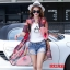 [พรีออเดอร์] เสื้้อเดรสคลุมแฟชั่นเกาหลีใหม่ สำหรับผู้หญิงไซส์ใหญ่ - [Preorder] New Korean Fashion Dress for Large Size Woman thumbnail 3