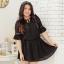 [พรีออเดอร์] เสื้้อเดรสแฟชั่นเกาหลีใหม่ สำหรับผู้หญิงไซส์ใหญ่ - [Preorder] New Korean Fashion Dress for Large Size Woman thumbnail 2