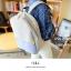 USE HOUSE กระเป๋าเป้ พรีเมียม BA054 สีม่วง พร้อมส่ง thumbnail 13