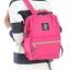 กระเป๋าเป้ Anello canvas shocking pink (Mini) thumbnail 1