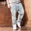 [พรีออเดอร์] กางเกงยีนส์แฟชั่นเกาหลีผู้ชายไซต์ใหญ่ size 38 - 46 ขายาว - [Preorder] Plus size Men ฺKorean Hitz size 38 - 46 Long Jeans thumbnail 1