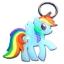 พวงกุญแจ My Little Pony - Rainbow Dash thumbnail 2