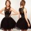 **พรีออเดอร์** ชุดเดรสผู้หญิงแฟชั่นยุโรปใหม่ แขนกุด ลูกไม้ แบบเก๋ เท่ห์ / **Preorder** New European Fashion Slim Wide Belt Lace Stitching Sleeveless Dress thumbnail 2