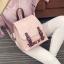 กระเป๋าเป้แฟชั่นผู้หญิง สีสรรสดใส มี 3 สี thumbnail 3