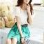 [พรีออเดอร์] ชุดเดรสชีฟองผู้หญิงแฟชั่นเกาหลีใหม่ แบบหวานเก๋ - [Preorder] New Korean Fashion Sweet Summer Round Neck Dress thumbnail 1