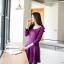 [พรีออเดอร์] เสื้อเดรสแฟชั่น Orange Bear แขนยาว คอกลม เสื้อตัวยาว เก๋ น่ารัก - [Preorder] Women ฺHitz Korean version Orange Bear of Round Neck Long-sleeved Dress thumbnail 1