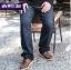[พรีออเดอร์] กางเกงแฟชั่นเกาหลีผู้ชายไซต์ใหญ่ size 38 - 48 ขายาว - [Preorder] Plus size Men ฺKorean Hitz size 38 - 48 Long Trousers สำเนา thumbnail 1