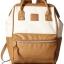 กระเป๋าเป้ Anello Leather Ivory Camel beige (Standard) หนัง PU กันน้ำ thumbnail 3