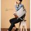 Kling / EXIT Premium Back pack(กระเป๋าเป้ สะพายหลัง) BA048 สีครีม พร้อมส่ง thumbnail 22