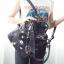 กระเป๋าเป้ สไตล์ Valentino Garavani nylon cismo backpack สุดเท่ห์ ตัวกระเป๋า ทำจากผ้าไนล่อนอย่างหนากันน้ำกันลมได้ดี งานสกรีนชัดสวยลายกาแลคซี่สุด เทนรด์ ที่สำคัญมีสายสะพายข้างแถมอีกเส้นด้วย คือสะพายได้ทั้งเป็นเป้ ถือ และ สะพายข้าง คุ้มจริงๆ ช่องใส่ของด้านใ thumbnail 5