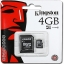 Kingston Micro SD Class 4 - 4GB thumbnail 1
