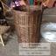 ตะกร้าวางผลไม้ ตะกร้าหวายวางโชว์ผลไม้ ถาดวางผลไม้ thumbnail 9