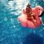 แพยางฟามิงโก้สีชมพูสุดฮิต ห่วงยางเล่นน้ําแฟนซี่ Inflatable Flamingo Pool Float งานเมกา thumbnail 2