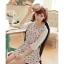 พรีออเดอร์ เสื้อเดรสแฟชั่นเกาหลี แบรนด์ Kaven Dream สวยหวาน แขนยาว ลายดอกไม้ - Preorder Women Korean Hitz Kaven Dream Brand Sweet Slim Long-Sleeve Floral Pattern Dress thumbnail 1