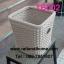 ถังขยะหวายเทียม ตะกร้าใส่ขยะ หวายเทียม (ตัวอย่างตะกร้าหวายเทียม) thumbnail 4