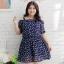 [พรีออเดอร์] เสื้้อเดรสแฟชั่นเกาหลีใหม่ โชว์แขน สำหรับผู้หญิงไซส์ใหญ่ - [Preorder] New Korean Fashion Dress for Large Size Woman thumbnail 1