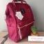 กระเป๋าเป้ Anello Canvas Wine (Standard) สีนี้ฮิตมากๆ!!! ผ้าโพลีเอสเตอร์แคนวาส กันน้ำ thumbnail 2