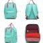 8848 Back pack(กระเป๋าเป้ สะพายหลัง) BA043 สี เขียวโปโล พร้อมส่ง thumbnail 4