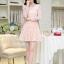 [พรีออเดอร์] ชุดเดรสลูกไม้หวานผู้หญิงแฟชั่นเกาหลีใหม่ แขนยาว แบบเก๋ เท่ห์ - [Preorder] New Korean Fashion Lace Long-Sleeve Sweety Dress thumbnail 1