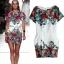[พรีออเดอร์] ชุดเดรสผู้หญิงแฟชั่นยุโรปใหม่ กระเป๋าเท่ห์ แขนยาว พิมพ์ลายดอกไม้ แบบเก๋ เท่ห์ - [Preorder] New European Fashion Large Pocket Round Neck Printed Floral Long-Sleeved Dress thumbnail 1