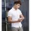 พรีออเดอร์ เสื้อเชิ้ตแฟชั่นเกาหลีสำหรับผู้ชาย แขนสั้น เก๋ เท่ห์ - Preorder Men Korean Hitz Slim Short-sleeved Shirt thumbnail 4