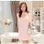 [พรีออเดอร์]ชุดเดรสผู้หญิงแฟชั่นเกาหลีใหม่ คอเสื้อตุ๊กตาแขนยาว ลายสก็อตสุดเก๋ เท่ห์ - [Preorder] New Korean Fashion Slim Doll Collar Plaid Long-sleeved Dress thumbnail 1