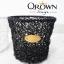 ถังขยะหวายเทียม Qrown Design thumbnail 3