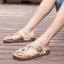 พรีออเดอร์ รองเท้าแตะหนัง PU เบอร์ 44-48 แฟชั่นเกาหลีสำหรับผู้ชายไซส์ใหญ่ เก๋ เท่ห์ - Preorder Large Size Men Korean Hitz Sandal thumbnail 5