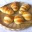 ตะกร้าหวายใส่ขนมปัง ตะกร้าสาน ถาดหวายเทียม ตะกร้าหวายเทียม thumbnail 1